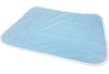 DryDayz Blue Fleece and Plastic Reversible Adult Extra Large Size Nappy Diaper Changing Mat ABDL