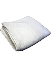 "42"" x 42"" 106cm Square White Terry Adult Nappy cloth diaper for adult incontinence - DryDayz.com"