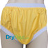 DryDayz Yellow breathable wide elastic pull up comfort plastic pvc pants for adults