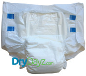 Drydayz All White Adult Nappy Size Large abdl diapers for adults nappies diaper fetish