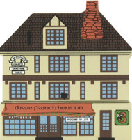 Cat's Meow Village Shelf Sitter - 12 Days of Christmas 3 French Hens Inn 00-133