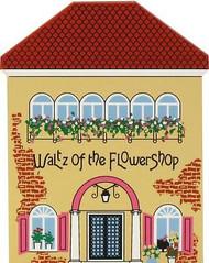 Cat's Meow Village NUTCRACKER Christmas Ballet Waltz of Flowershop #02-831 NEW