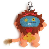 GUND UGLYDOLL Wizard Oz Cowardly Lion Clip NEW #4045812 Holiday Stocking Stuffer