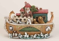 ROMAN Joseph Studio Slim Profile Noah's Ark Figure Scene #35185 NEW Boxed