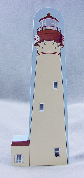 Cat's Meow Village Shelf Sitter - Lighthouse Cape May New Jersey R938