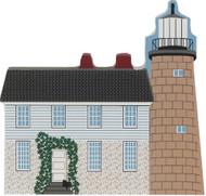 Cat's Meow Village Shelf Sitter White Head Island, Maine Lighthouse #CC00