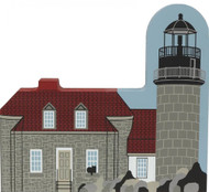 Cat's Meow Village Shelf Sitter - Matinicus Rock Lighthouse #1973