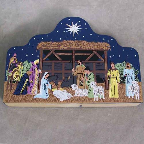 Cat's Neow Village 2011 Nativity Scene Be Not Afraid