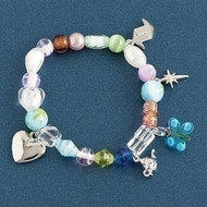 ROMAN Sister's Stretch Faith Christian Bracelet #42252