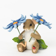 "Charming Tails Mouse - FREINDSHIP/SUPPORT/LOVE ""When I See Something Beautiful I, Think Of You"" - #4035615"