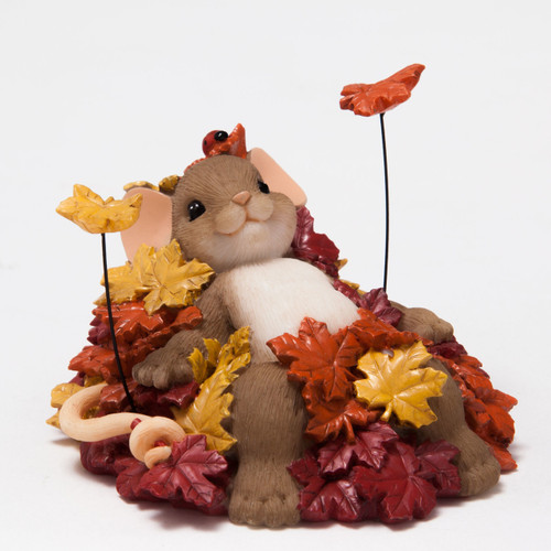 "Charming Tails Mouse Figure ""Take Comfort in the Beauty of Change"" 4046805"