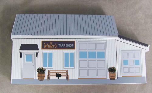 Cat's Meow Village Miller's Tarp Shop