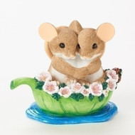 Charming Tails Mouse Mice Friendship Together on a Sea of Love #19380