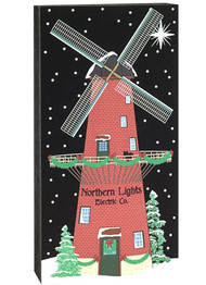 Cat's Meow Village  Northern Lights Electric Co. Windmill, #17-922