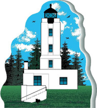 Cat's Meow Village keepsake Five Finger Lighthouse #08-624