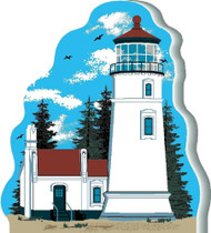 Cat's Meow Village keepsake Umpqua River Lighthouse #08-625