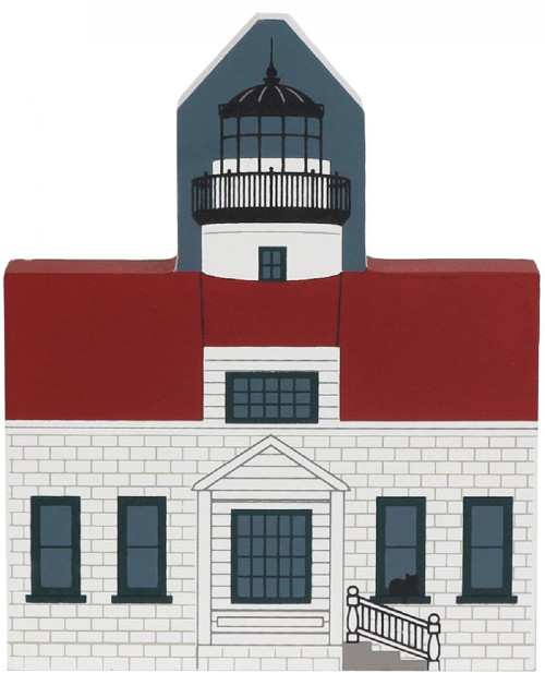Point Pinos Lighthouse Pacific Grove CA #2944  - Cat's Meow Village