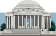 Cat's Meow Jefferson Memorial #R909
