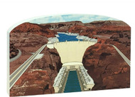 Cat's Meow Keepsake Hoover Dam Scene #R969
