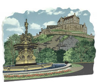 Edinburgh Castle & Ross Fountain Cat's Meow Keepsake #R970