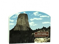 Cat's Meow Keepsake - Devil's Tower Wyoming