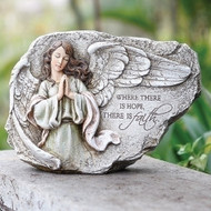 Angel Plaque , Where there is Hope there is Faith