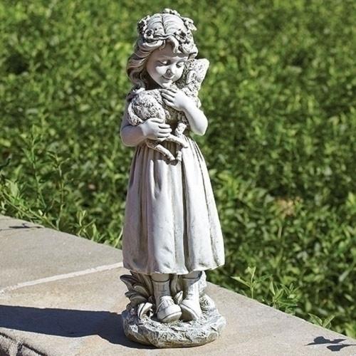 Garden Angel with Lamb #66221