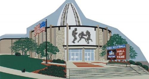 Canton Ohio Pro Football Hall of Fame  Keepsake