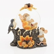 Charming Tails Glitter Dome #131639 Fall/Harvest
