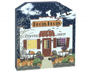 Cat's Meow Village Hocus Pocus Coffee Shop #18-631