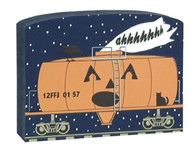 Cat's Meow Village Buzzard Express Train Tanker of Screams Car #16-637