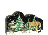 Cat's Meow Village North Pole Elf Carriage Service 18-933