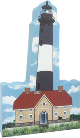Cat's Meow Village Shelf-sitter Keepsake Fire Island Lighthouse  R980