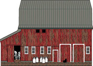 Cat's Meow Amish Dairy Barn