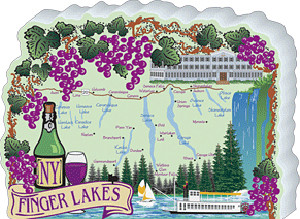 Map Of New York Finger Lakes.Cat S Meow Village New York Finger Lakes 05 941