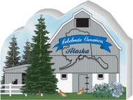 Cat's Meow Village Alaska State Barn