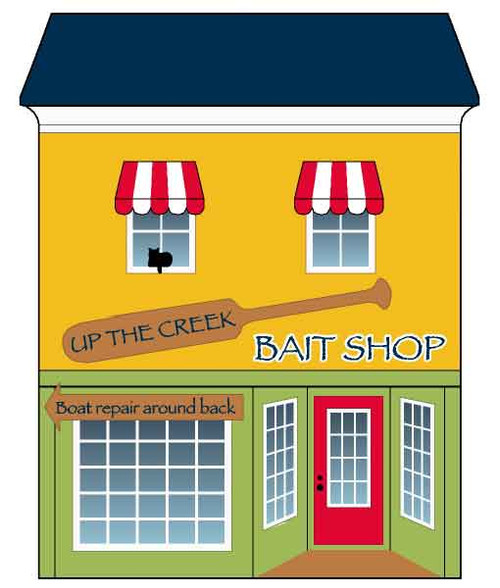Cat's Meow Village Lakeside Up-the-Creek Bait Store