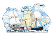 Cat's Meow Village Shelf Sitter - Tall Sailing Ships of the World