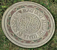 Joseph's Studio ROMAN Garden Celtic Stone May you always walk in sunshine.