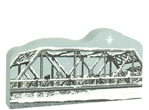 Cat's Meow Village It's A Wonderful Life George Bailey's Bridge
