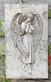 Christian Religious Wall Plaque - Angel
