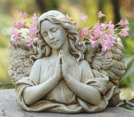 Garden Planter Praying Angel - Joseph's Studio