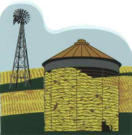 Cat's Meow Village Amish Corn Crib and  Windmill #14-415 NEW Shipping Discounts