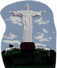 Cat's Meow Village Shelf Sitter - Christ the Redeemer Statue Rio De Janerio Brazil 05-913