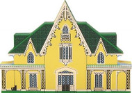 Cat's Meow Village Massachusetts Victorian Home Rotch Gothic Cottage #4993 NEW