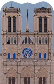 Cat's Meow Village Shelf Sitter - Notre Dame De Paris France 01-951