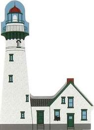 Cat's Meow Village Presque Isle Lighthouse Michigan Huron #6993