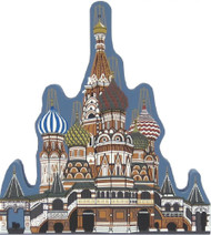 Cat's Meow Shelf Sitter - St. Basil's Cathedral Moscow RUSSIA 03-914