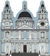 Cat's Meow Village Shelf Sitter - St. Paul's Cathedral London England #05-911