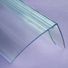 16mm Polycarbonate Side Cap, 12 ft. -  Polycarbonate F channel works like u-channel and flashing
